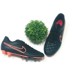 NEW Nike Black & Orange Cleats